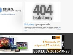 Miniaturka domeny www.toplista100.za.pl