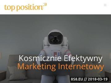 Zrzut strony Agencja Interaktywna Top Position