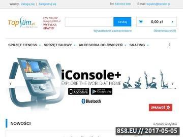 Zrzut strony Sprzęt do fitness i siłowni - TopSlim.pl