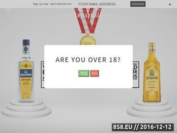 Zrzut strony Polska hurtownia alkoholu UK
