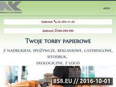 Miniaturka Sprzedaż toreb papierowych (www.torbypapierowe.info.pl)