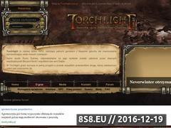 Miniaturka domeny www.torchlight.com.pl