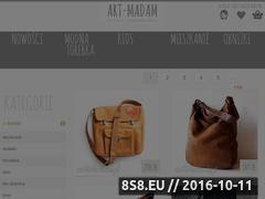 Miniaturka domeny torebki.art-madam.pl