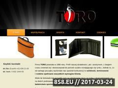 Miniaturka domeny www.toro.biz.pl
