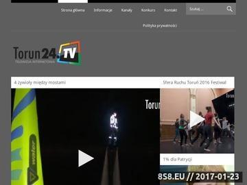 Zrzut strony Rozrywka Toruń