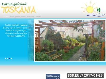 Zrzut strony Toskania Pokoje Goscinne, Karwia