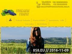 Miniaturka domeny www.toskaniatravel.com.pl