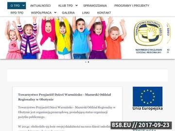 Zrzut strony Towarzystwo Przyjaciół Dzieci pomoc dla dzieci