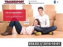 Miniaturka domeny trackexport.com.pl