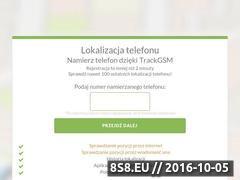 Miniaturka domeny trackgsm.pl