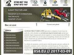 NON-STOP tow Pitesti, Arges and Bucharest Website