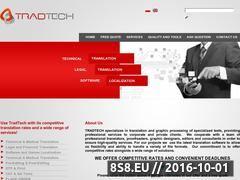 Miniaturka domeny www.tradtech.pl