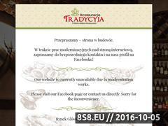 Miniaturka domeny tradycyja.pl