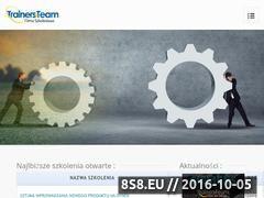 Miniaturka domeny trainersteam.pl