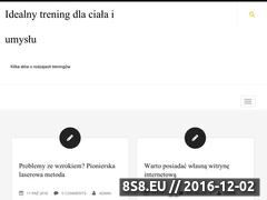 Miniaturka domeny trainperfect.pl