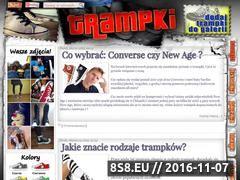 Miniaturka domeny trampki.pl