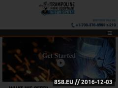 Thumbnail of Trampoline park franchise Website