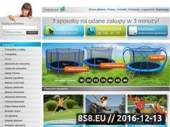 Miniaturka domeny www.trampolinyogrodowe.pl