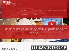 Miniaturka domeny trans-hall.com.pl