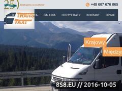Miniaturka domeny www.trans-taxi.pl