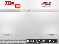 Miniaturka domeny www.trans-tom.com.pl