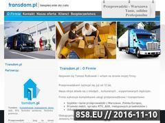 Miniaturka domeny www.transdom.pl