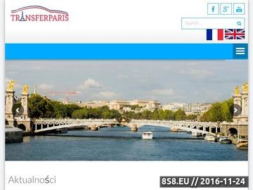 Zrzut strony Transport Paryż - Beauvais z TRANSFERPARIS