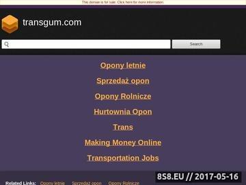 Zrzut strony TransGum - opony rolnicze i ciężarowe