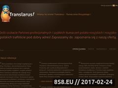 Miniaturka domeny www.translarus.pl