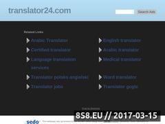 Miniaturka domeny www.translator24.com
