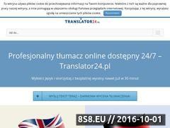 Miniaturka domeny www.translator24.pl