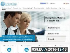 Miniaturka domeny www.transleo.pl