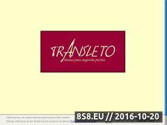 Miniaturka domeny www.transleto.com.pl