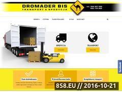 Miniaturka domeny www.transport-dromader.pl