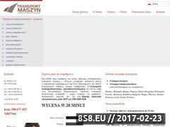 Miniaturka domeny transport-maszyn.pl