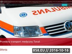 Miniaturka domeny www.transport-medyczny24.pl