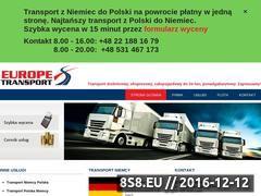 Miniaturka domeny www.transport-niemcy.eu