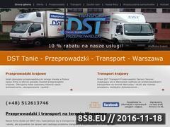 Miniaturka domeny www.transport-przeprowadzki.waw.pl