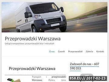 Zrzut strony Transport Warszawa