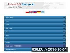 Miniaturka domeny www.transportgrecja.pl