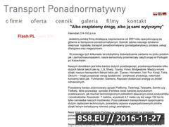 Miniaturka domeny www.transportpiwinski.pl