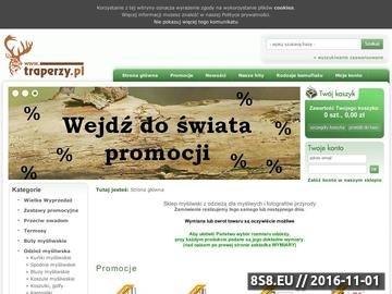 Zrzut strony Odzież myśliwska Traperzy.pl
