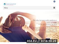Miniaturka domeny www.travel-concierge.com.pl