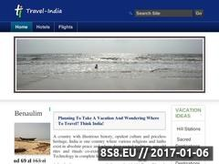 Thumbnail of Travel-India Website
