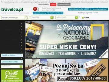 Zrzut strony Księgarnia Turystyczna TravelCo.pl