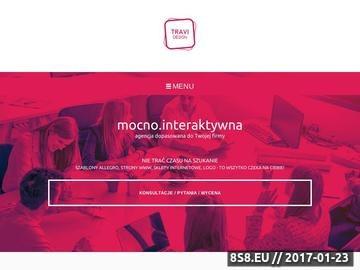 Zrzut strony Strony WWW, szablony Allegro, logotypy i sklepy internetowe - Travi Design