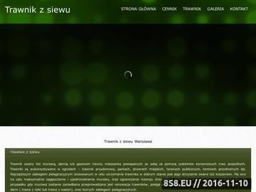 Zrzut strony Www.trawnikzsiewu.pl
