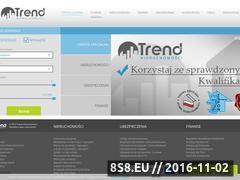 Miniaturka domeny trend-nieruchomosci.pl