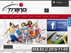 Miniaturka domeny trendisport.pl