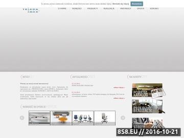 Zrzut strony Meble biurowe Poznań - Triada-Imex